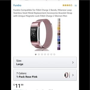 Accessories - NWT Fundro Fitbit Versa Band